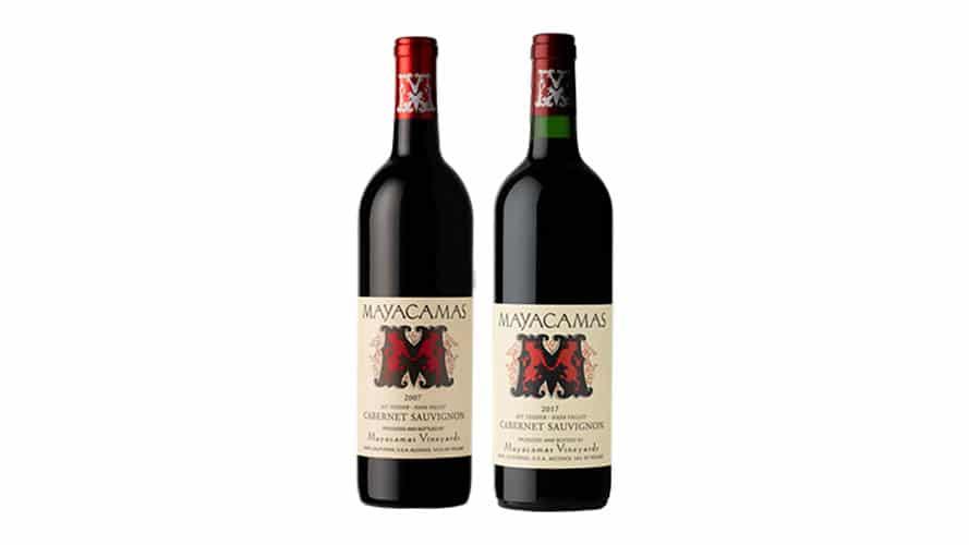 Mayacamas 2017 Cabernet Sauvignon And 2007 Cabernet Sauvignon